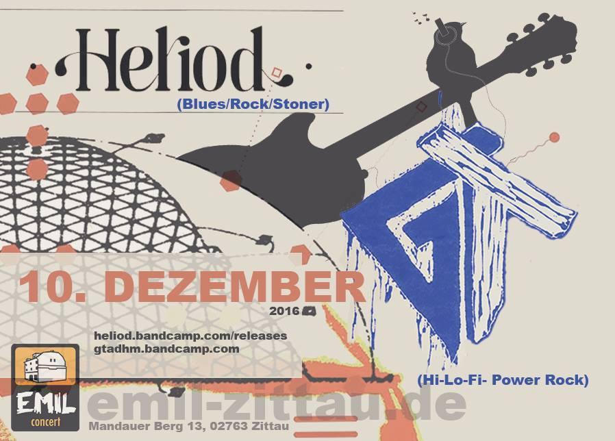 10.12.2016, Heliod + GT, Einlass 21 Uhr